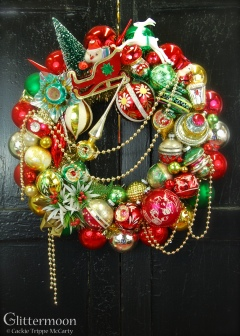 Christmas Cheer Wreath 20%22