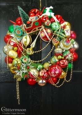 Christmas Cheer Wreath 20%22