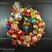 Really Retro Wreath