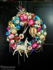 Snow Deer Wreath