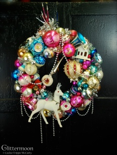 Snow Deer Wreath