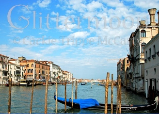 The Grand Canal in Blue